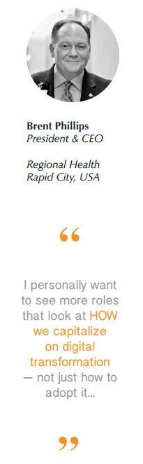 Brent Phillips, Regional Health President and CEO