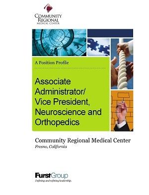 ViceAssociate Administrator/VP, Neuroscience and Orthopedics