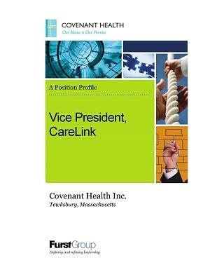 Vice President, CareLink, Covenant Health