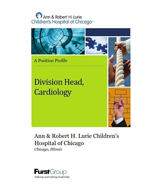 Lurie Children's, Division Head Cardiology